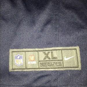 NFL Shirts - Seahawks jersey #3 Wilson size XL